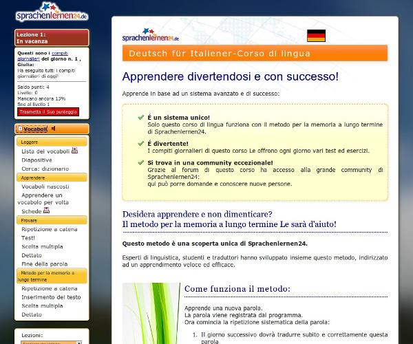 Corso di tedesco – Vocaboli in tedesco: Tedesco per italiani